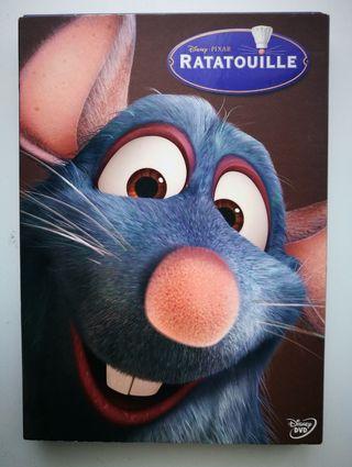 """Película DVD """"Ratatouille""""."""