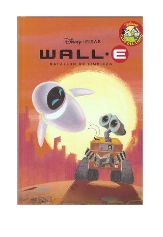 libro Wall-e basado en la pelicula Disney