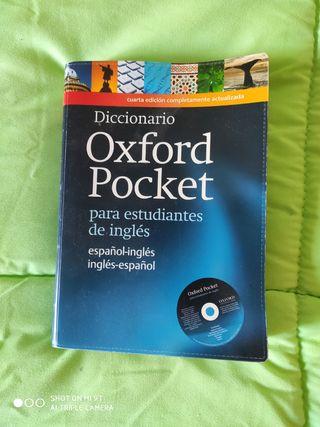 Diccionario inglés Oxford Pocket con Cd
