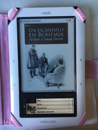 Ebook nook doble pantalla wifi