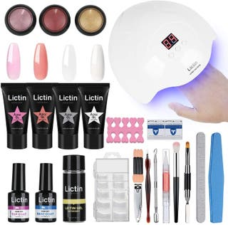 kit Lampara Uñas de Gel-Lámpara Secador UV/LED
