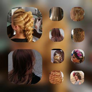 peluquera estilista, maquilladora, manicurista