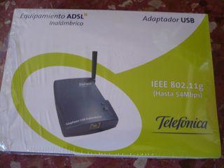 Adaptador inalámbrico USB
