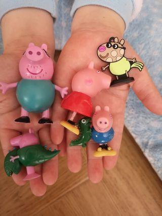 Regalo figuras de Peppa pig