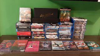 Lote 152 películas blu-ray