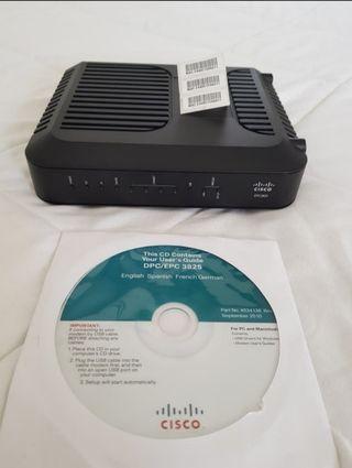 Módem/router Wifi Cisco EPC 3825