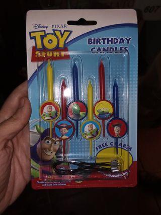 Velas toy Story