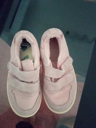 zapatillas zara rosa palo