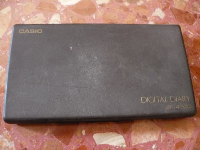 Agenda digital Casio