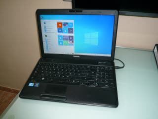 TOSHIBA INTEL I3 M370 2,40GHZ. 250HDD.4GB.RAM