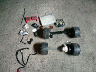 se vende lote de piezas de moto coche o quad bater