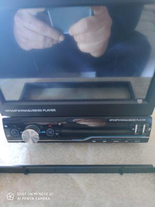 vendo radio de coche con pantalla táctil