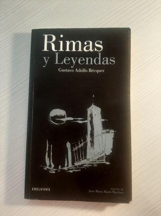 Libro Gustavo Adolfo Bécquer, Rimas y Leyendas