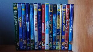 Lote Peliculas Disney-Pixar DVD