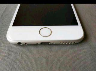 iPhone 6S, 64Gb, plata, flamante.