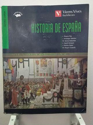 HISTORIA DE ESPAÑA. 2DO BACHILLERATO. VICENS VIVES