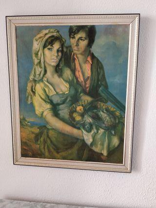 Reproducción Pinturade Francisco Ribera, año 1974.