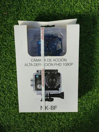 cámara de acción alta definición