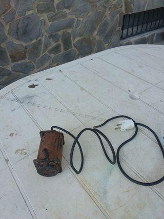 bomba para fuente jardín