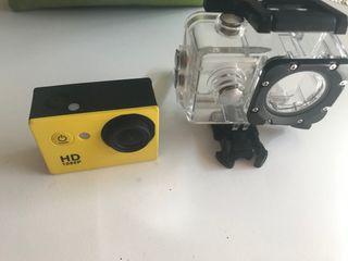 Cámara de foto y vídeo HD 1080p