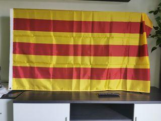 bandera catalana senyera 1,20 x 1,80mtr nueva