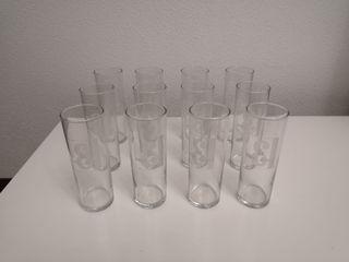 12 Vasos de tubo J&B