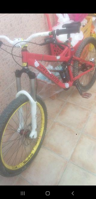 Bicicleta specialized de enduro