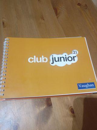 Libros Inglés Método Vaughan Club Junior
