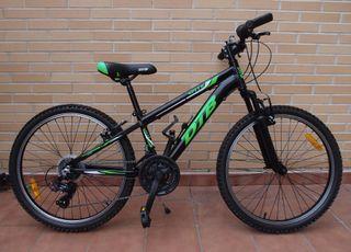 Bicicleta Aluminio 24'' Suspensión Delantera