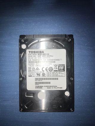 Disco duro Toshiba