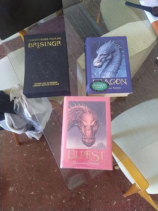 Libro coleccion Eragon Ingles/English + 1