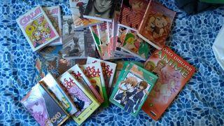 Lote de comics Manga