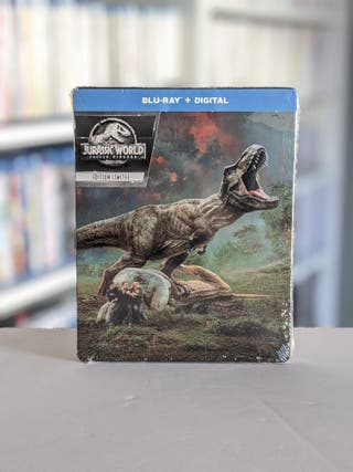 Bluray Jurassic World El Reino Caido (Steelbook)