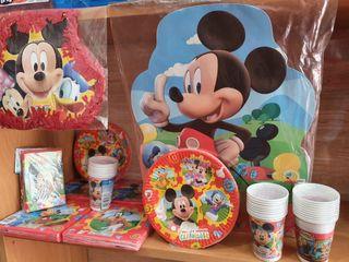 Set de cumpleaños Mickey Mause