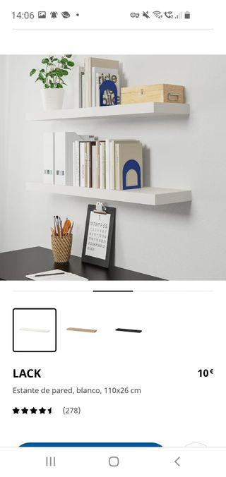 estantes de pared LACK