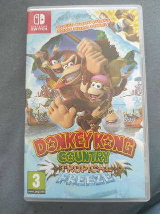 Donkey Kong Country Tropical Freeze NintendoSwitch
