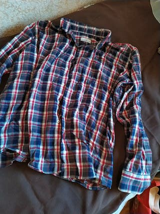 Camisa vintage gruesa