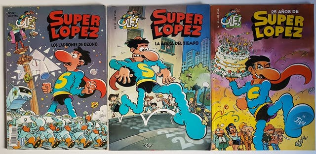 comics SUPERLÓPEZ