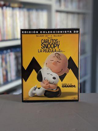 Bluray 3D Carlitos y Snoopy La pelicula de Peanuts