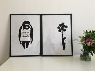 Bansky prints
