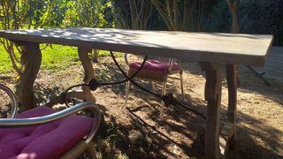 mesa madera intigua