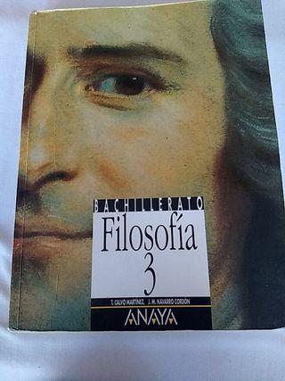 libro de texto de filosofía