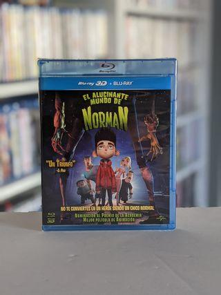 Bluray 3D El Alucinante Mundo de Norman