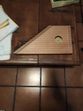 Arpa/Citará musical artesanal hecha a mano