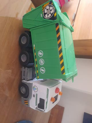 camión reciclaje