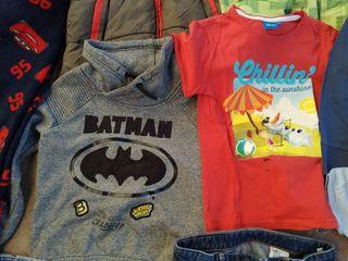 Lote de ropa niño. Talla 5-6 años