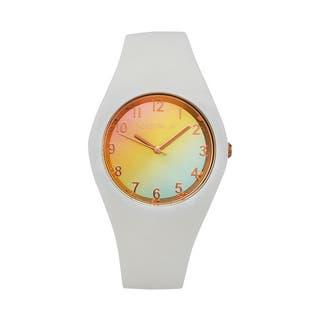 Reloj Glitter Blanco