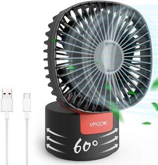VPCOK Mini Ventilador USB Silencioso