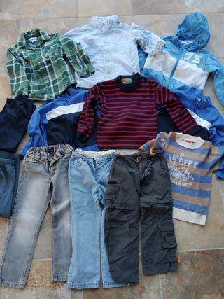Lote de ropa niño. Talla 4 años
