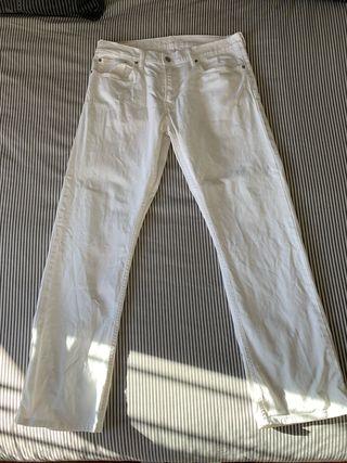 Pantalones blancos Levi's de hombre